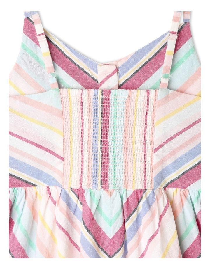 Linen Button Front Dress image 4