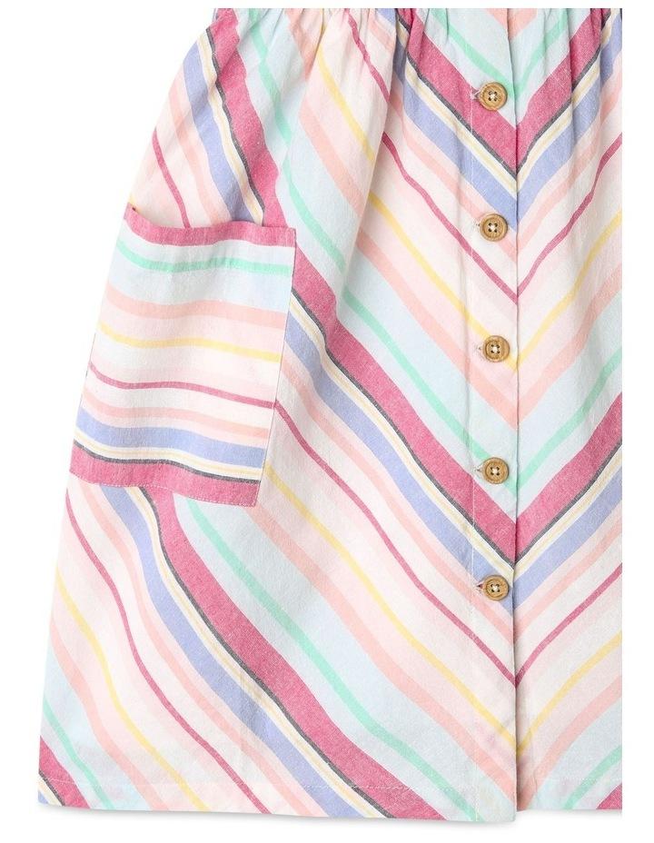 Linen Button Front Dress image 5