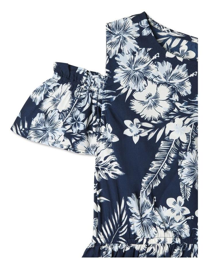 Woven Cold Shoulder Dress image 2