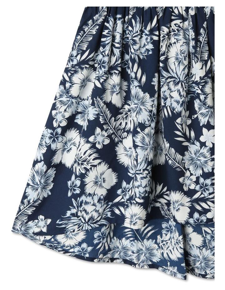 Woven Cold Shoulder Dress image 3