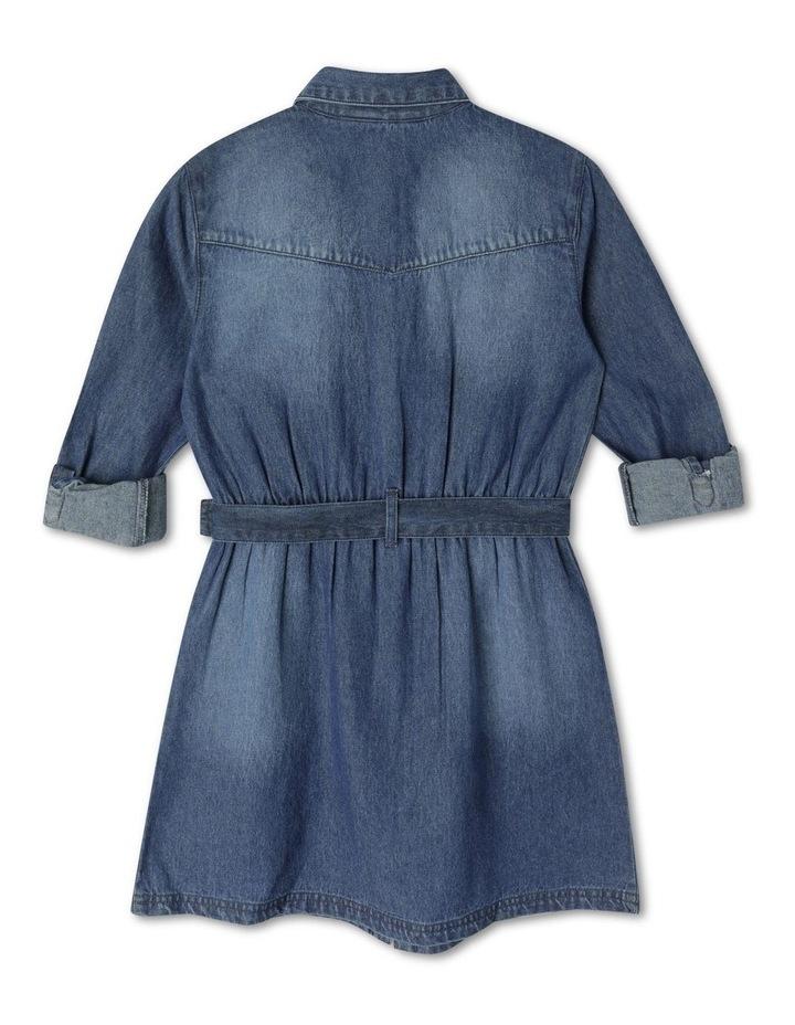Denim Shirt Dress image 3