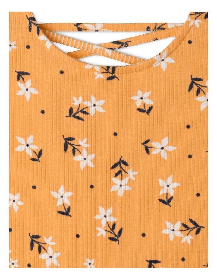 Long Sleeve Rib Skater Dress image 2