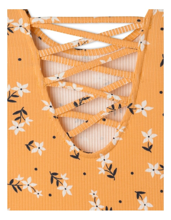 Long Sleeve Rib Skater Dress image 4