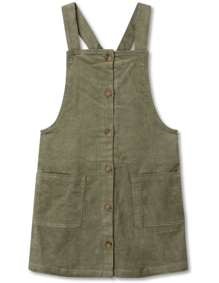 Button Front Corduroy Pinafore image 1