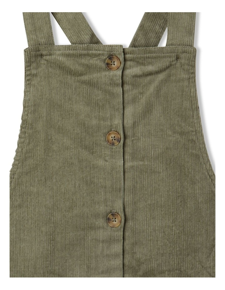 Button Front Corduroy Pinafore image 2