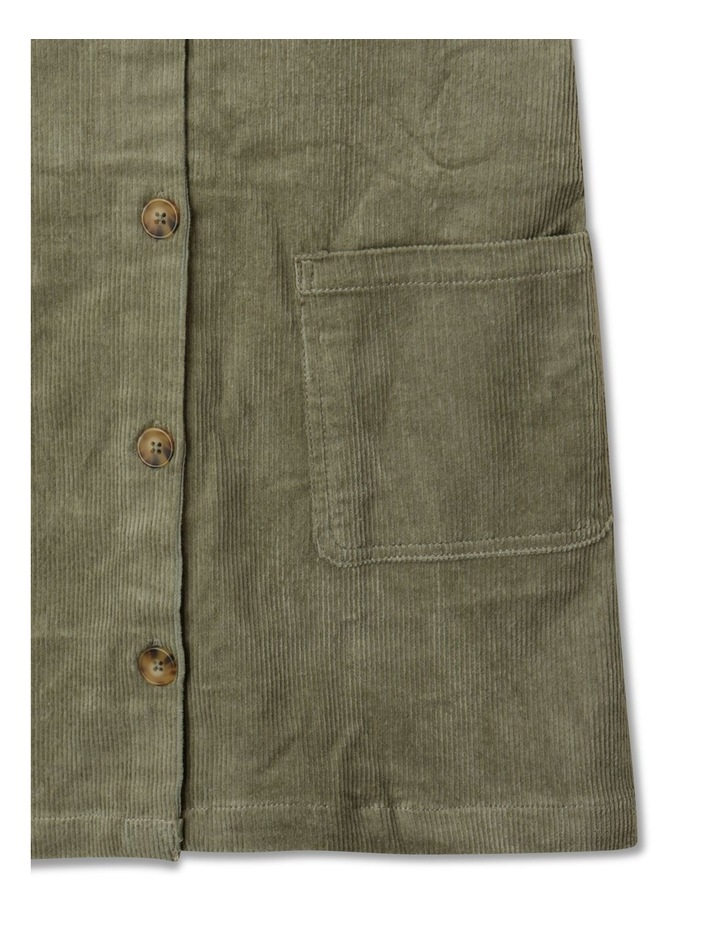 Button Front Corduroy Pinafore image 3