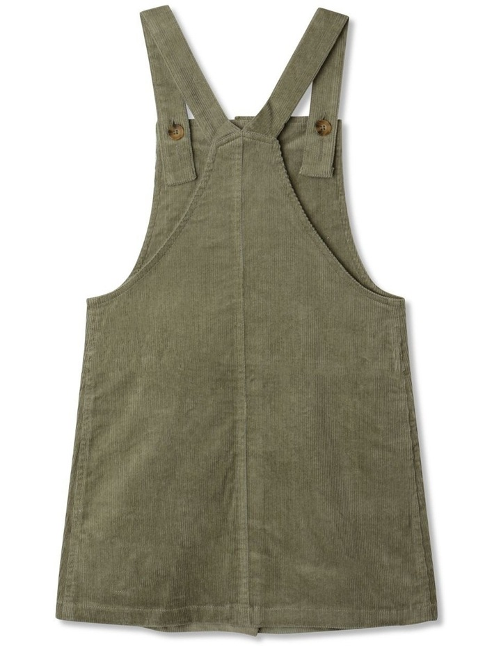 Button Front Corduroy Pinafore image 4