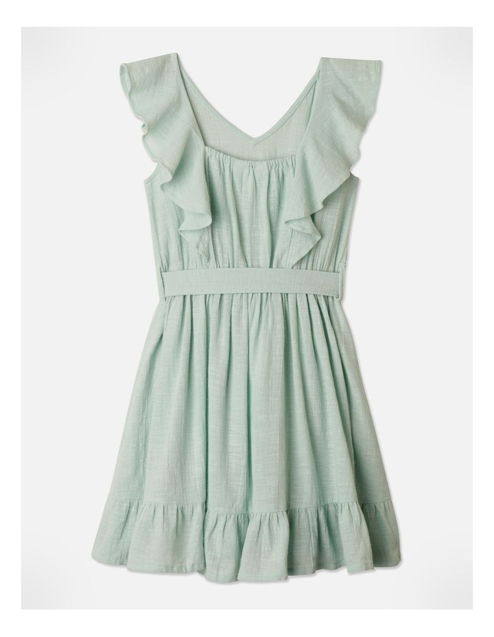 Woven Princess Frill Dress image 4