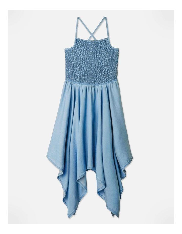 Tencel Hanky Hem Dress image 1