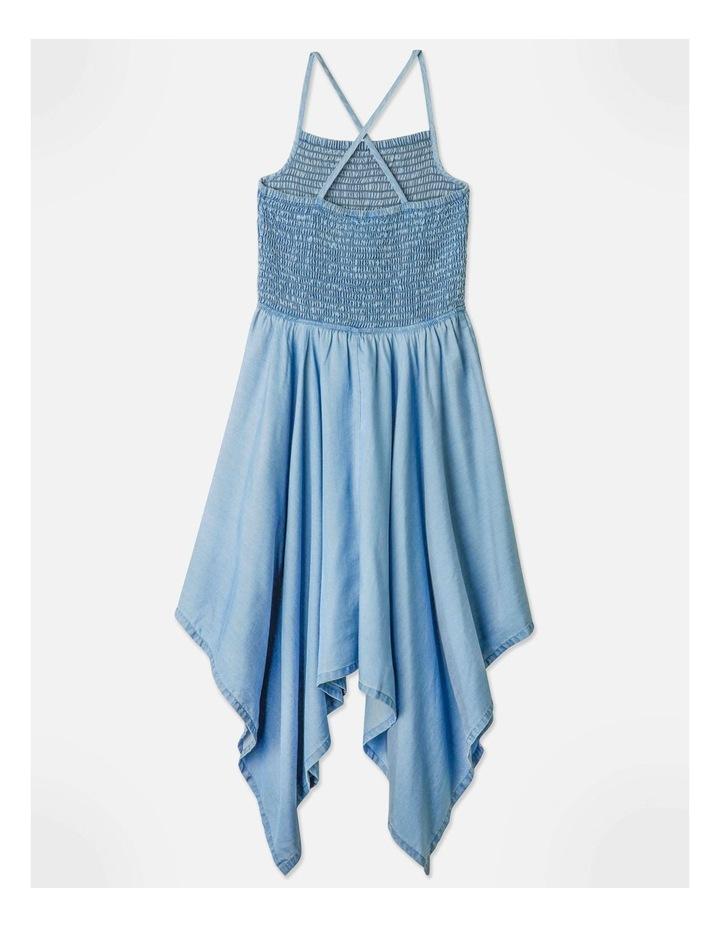 Tencel Hanky Hem Dress image 4
