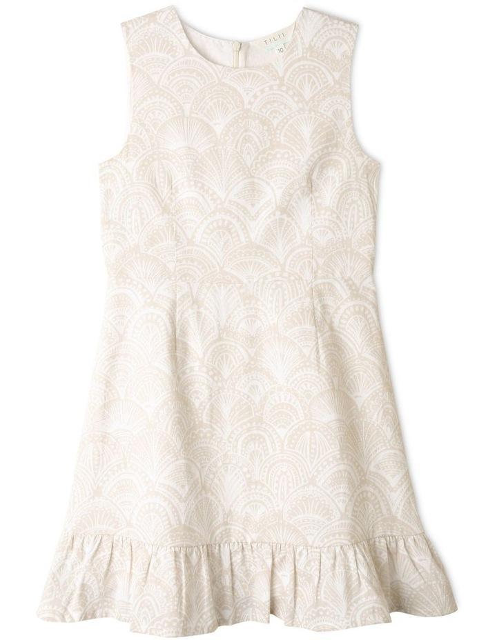 Sleeveless Linen Dress image 1