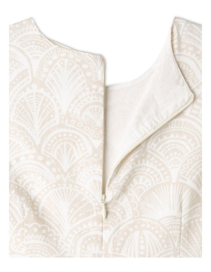 Sleeveless Linen Dress image 7