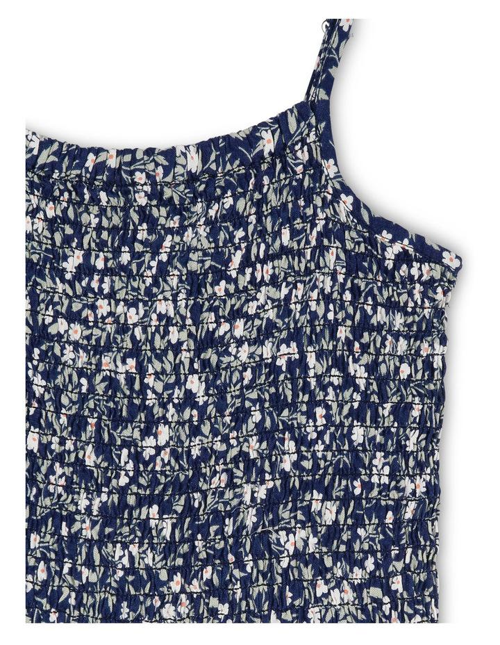 Shirred Bodice Woven Jumpsuit image 2