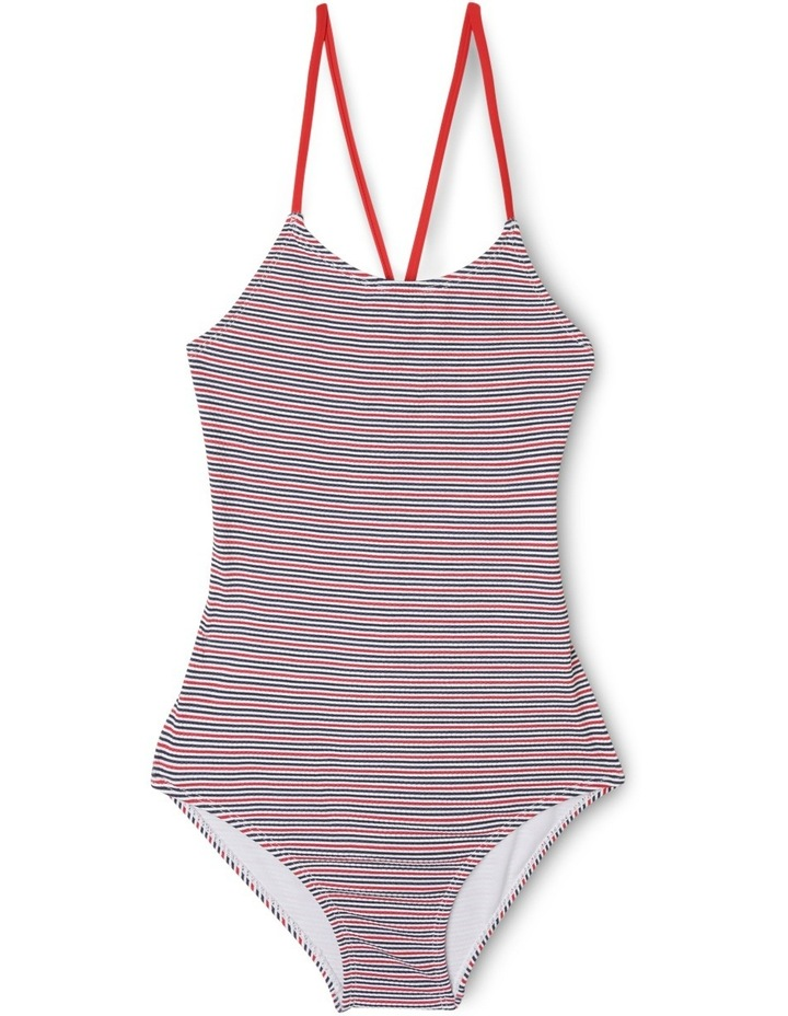 Textured Stripe Bathers image 1