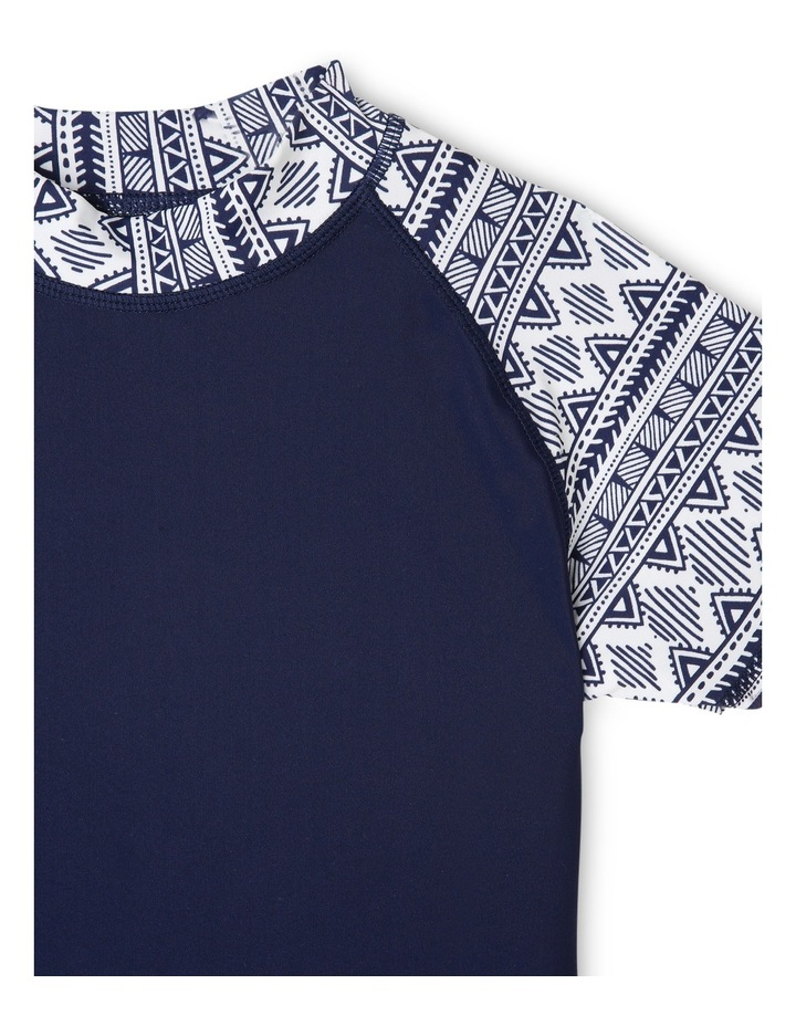 Short Sleeve Rash Vest Set image 2