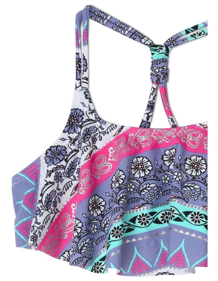 Frill Bikini with Knot Detail image 3