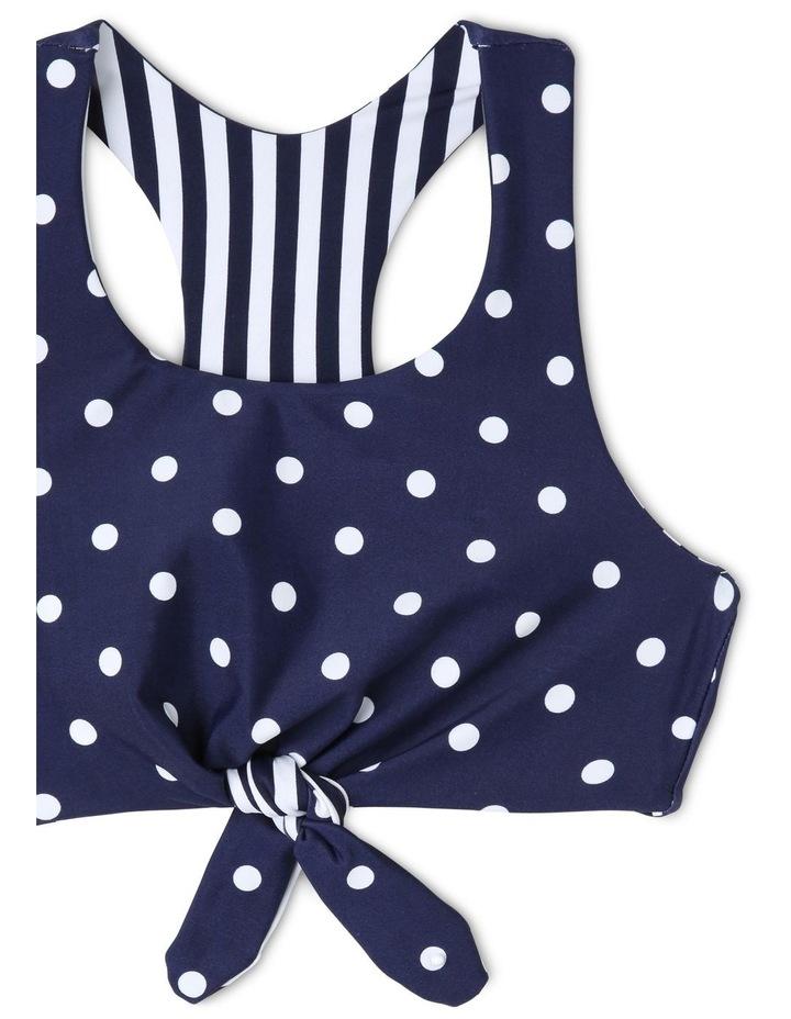 Reversible Halter Tie Front Bikini image 4