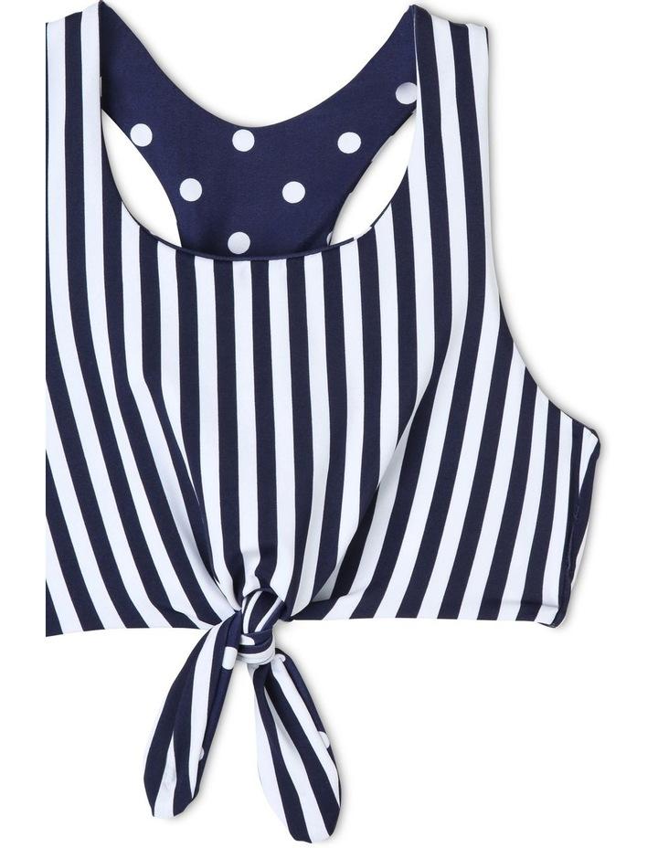 Reversible Halter Tie Front Bikini image 6