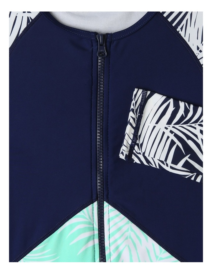 Chlorine-Resistant Long-Sleeve One-Piece Swimsuit image 2