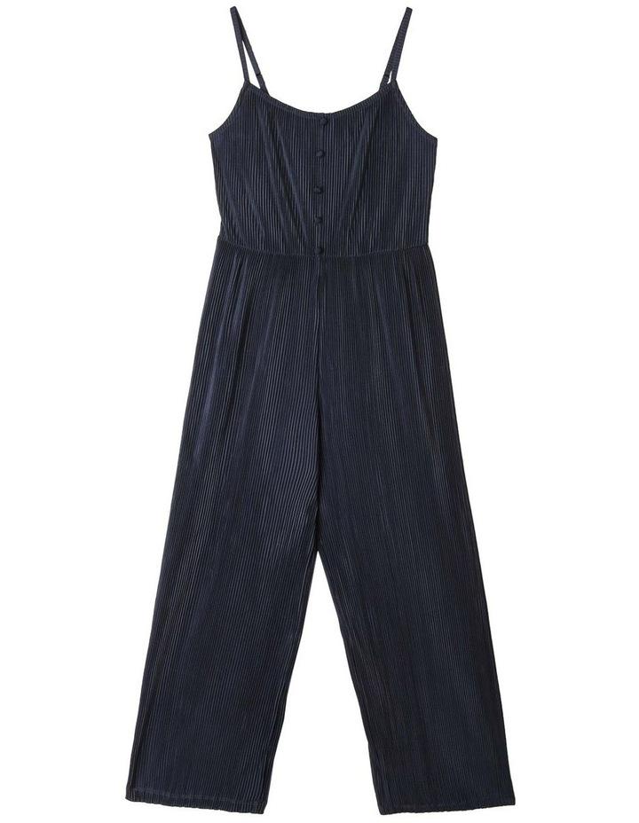 Crinkle Knit Jumpsuit image 1
