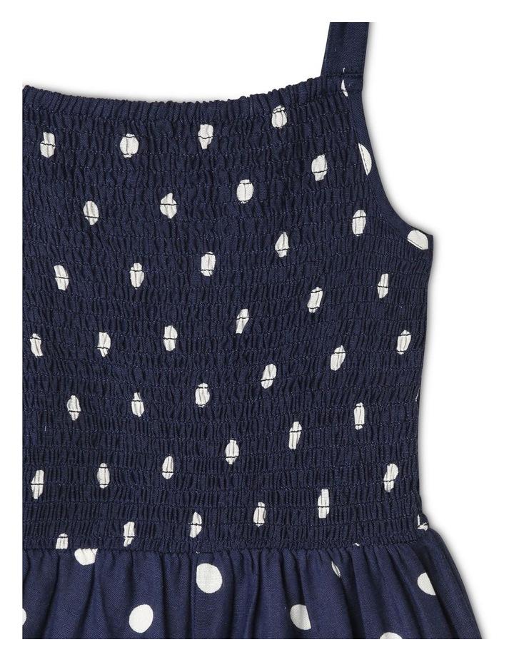 Linen Shirred Jumpsuit image 2