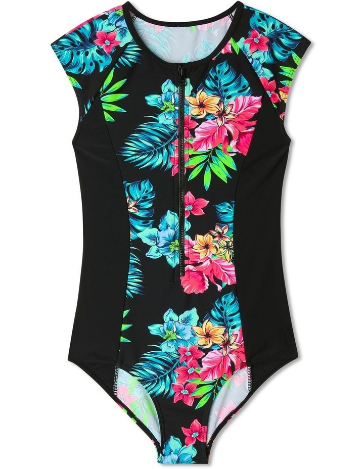 Chlorine-Resistant One-Piece Swimsuit image 1