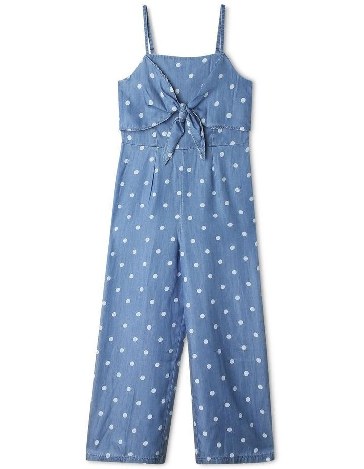 Tencel Tie Front Jumpsuit image 1