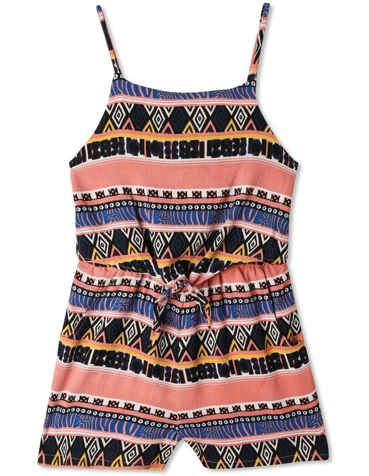 Woven Crinkle Playsuit image 1