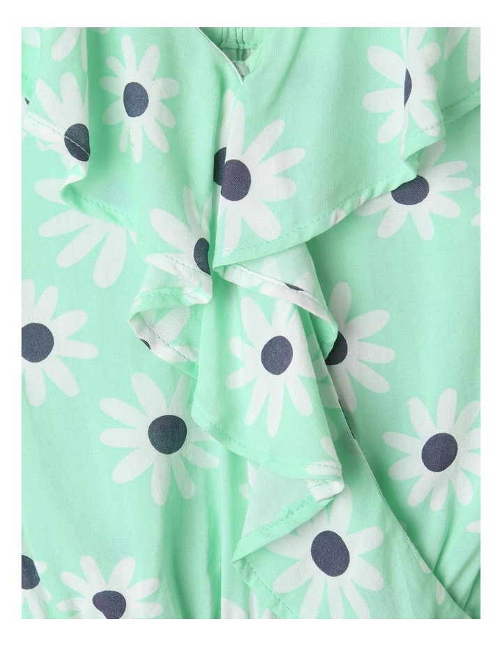 Woven Frill Playsuit Mint image 2