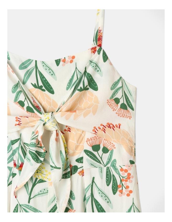Woven Tie Front Jumpsuit image 3
