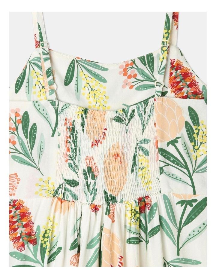 Woven Tie Front Jumpsuit image 5
