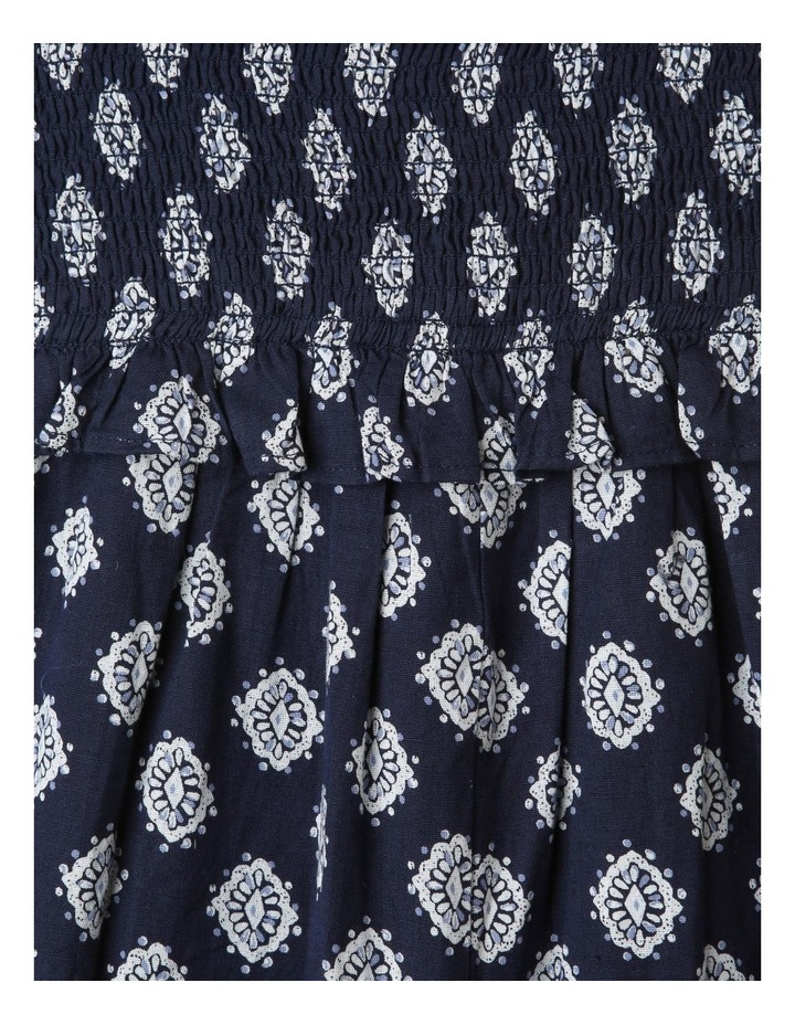 Linen Shirred Jumpsuit image 4