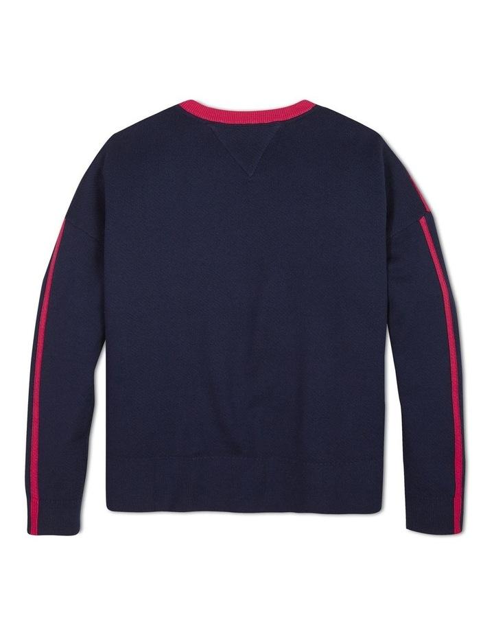 Colour-Blocked Cotton Sweater image 2