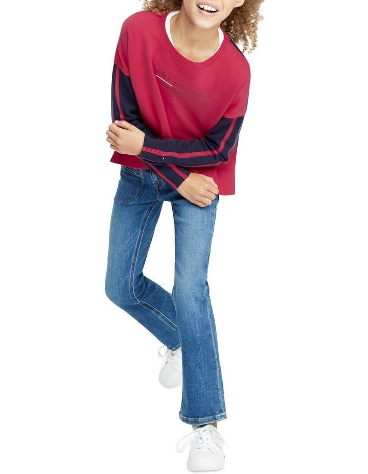 Colour-Blocked Cotton Sweater image 3