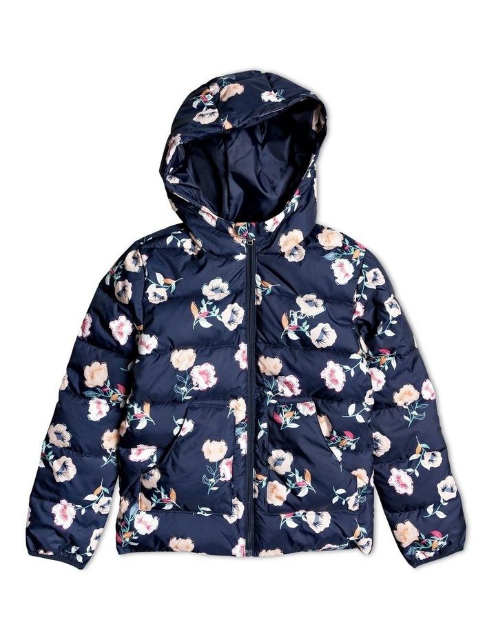 Glitter Shell - Hooded Puffer Jacket image 1