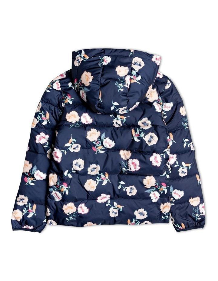 Glitter Shell - Hooded Puffer Jacket image 2