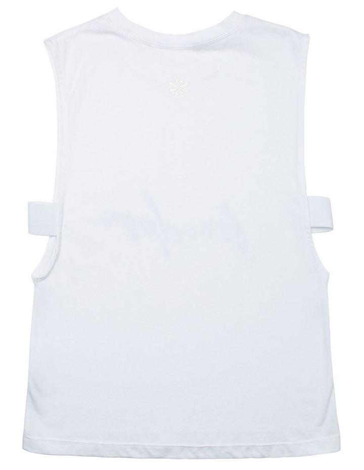 Muscle Tank With Ribbon Edge image 2
