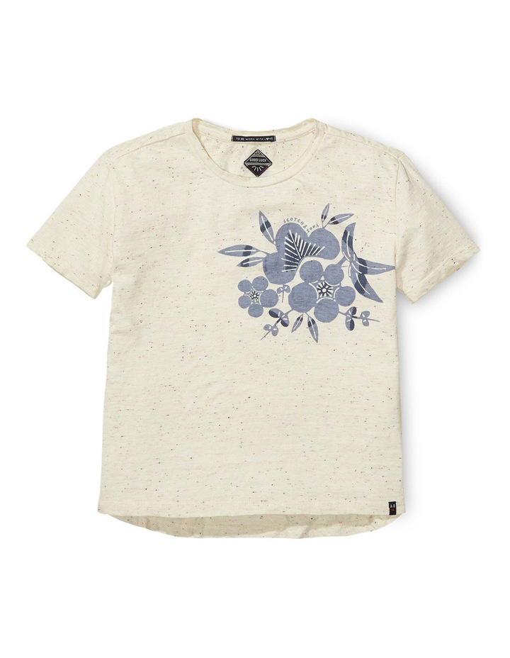 Boxy Worked Out Short Sleeve Tee image 1