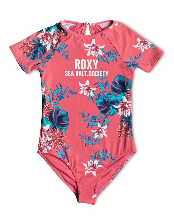 Day Dream - Short Sleeve UPF 50 One-Piece Swimsuit image 1