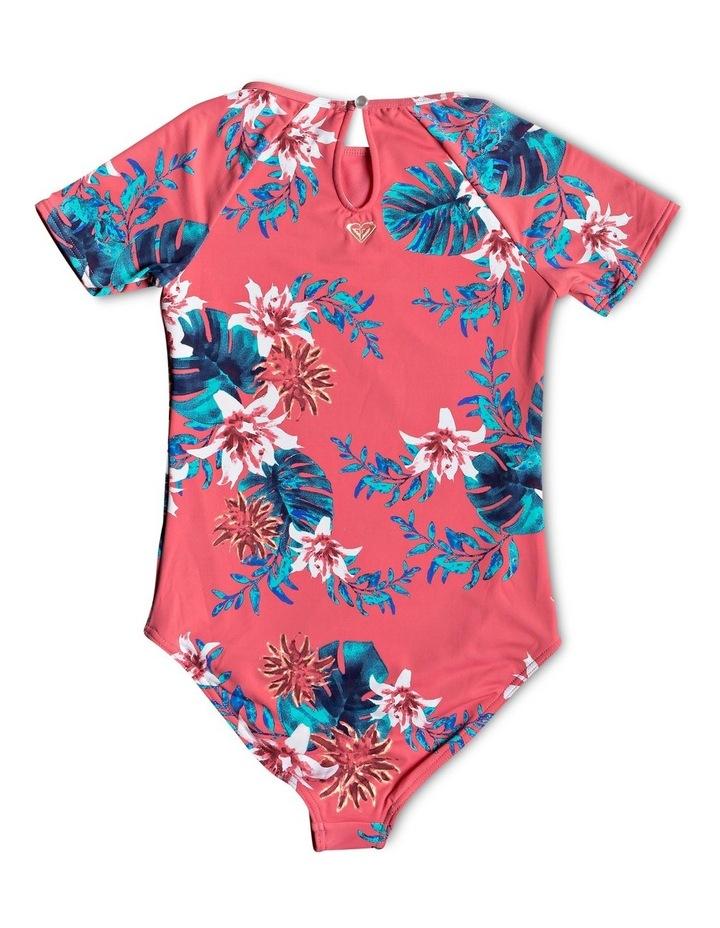 Day Dream - Short Sleeve UPF 50 One-Piece Swimsuit image 2