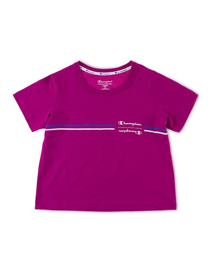 Sporty Short Sleeve Tee image 1