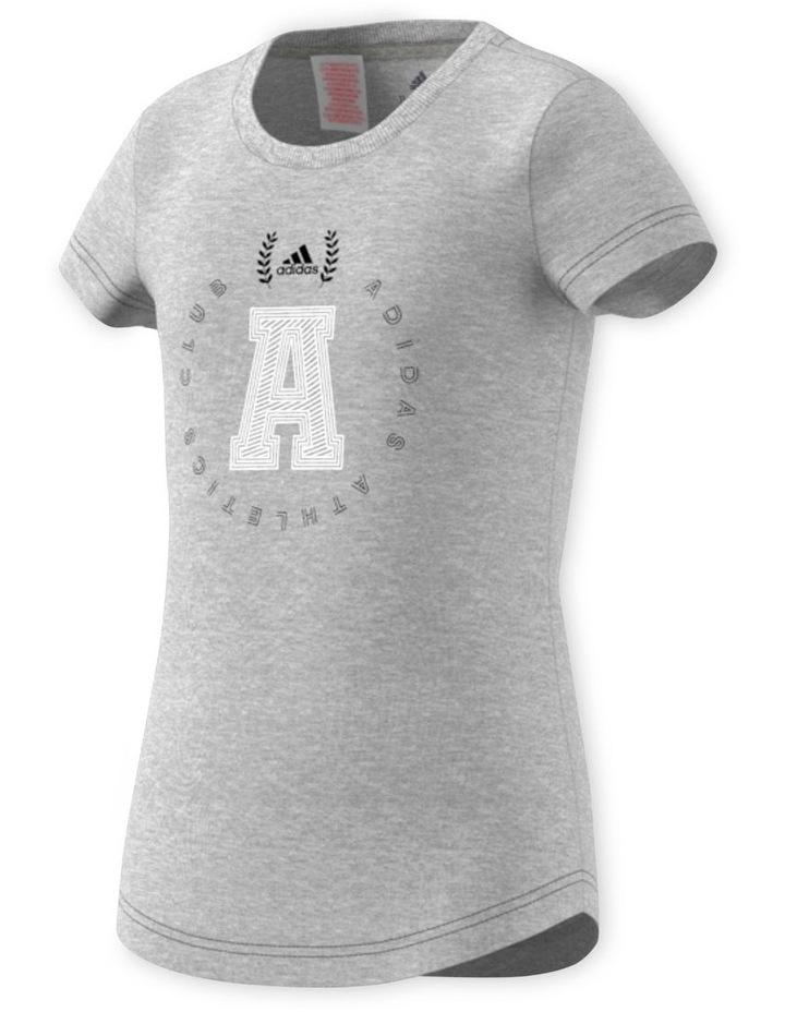 Junior Girls adidas Athletics Club Graphics TShirt image 2