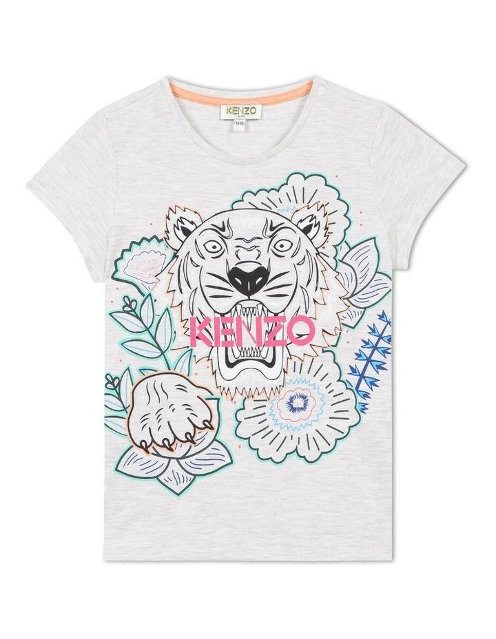 Fashion Tiger Print Tee (8-12) image 1