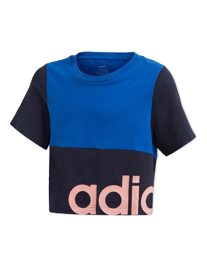 Young Girls Linear Colorblock T-Shirt image 1