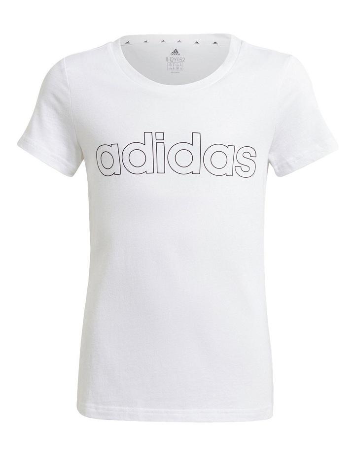 Adidas Girls Essentials Logo Tee image 1