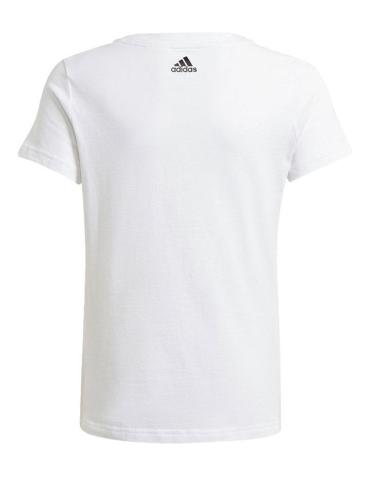 Adidas Girls Essentials Logo Tee image 2