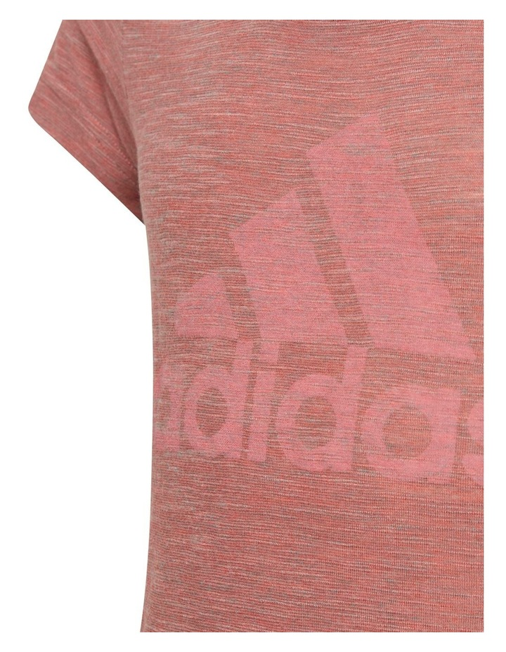 Junior Girl A Mhe Pink Tee image 4