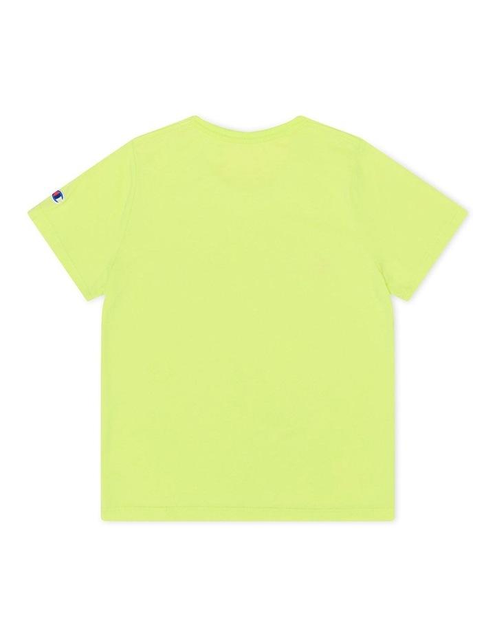 Script Short Sleeve Tee Yellow image 2