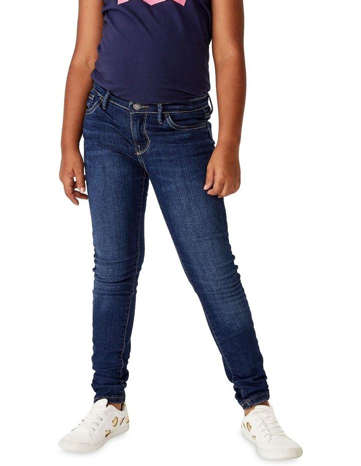 Girls 710 Denim Super Skinny Fit Jean image 1