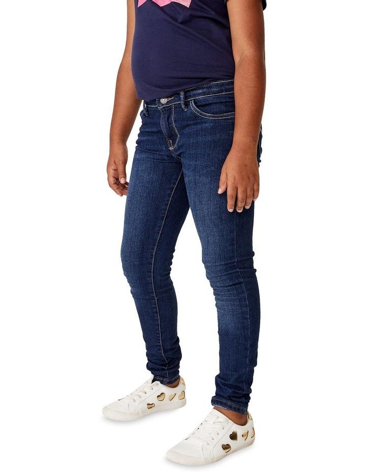 Girls 710 Denim Super Skinny Fit Jean image 2